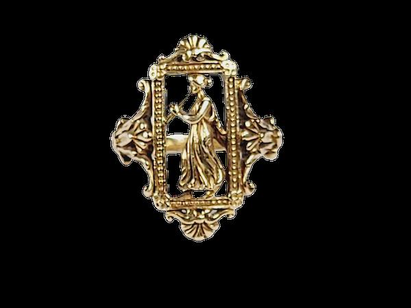 Weise 18ct gold ring sku 5000  DBGEMS - image 1