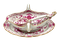 Meissen sauce boat and ladle - image 1