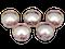 5 x Meissen salts - image 1