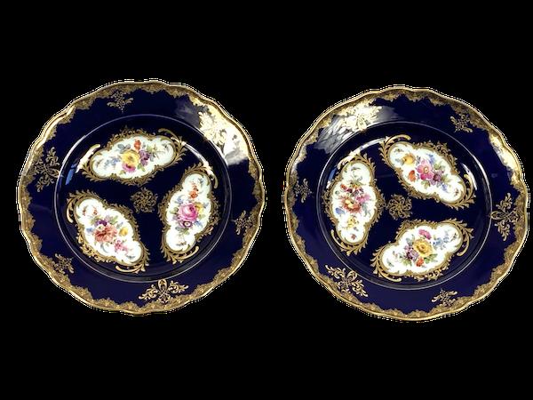 Pair of Meissen plates - image 1