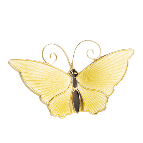 A Yellow Butterfly by by David Andersen - image 1