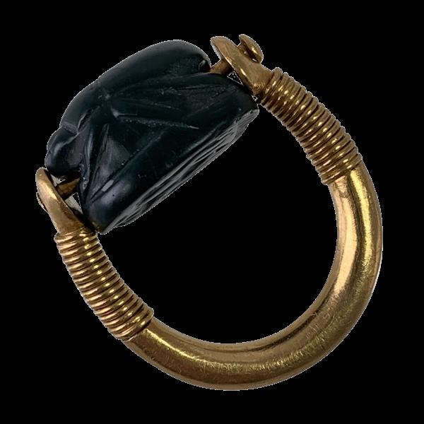 Ancient Carthaginian scarab ring - image 1