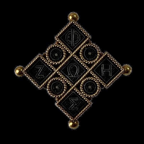 Castellani mosaic brooch - image 1