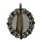 Seventeenth century silver reliquary with emeralds and diamonds - image 1