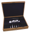 WALKER & HALL Cutlery - PRIDE Pattern - 47 Piece Canteen for 6 - Black - image 1