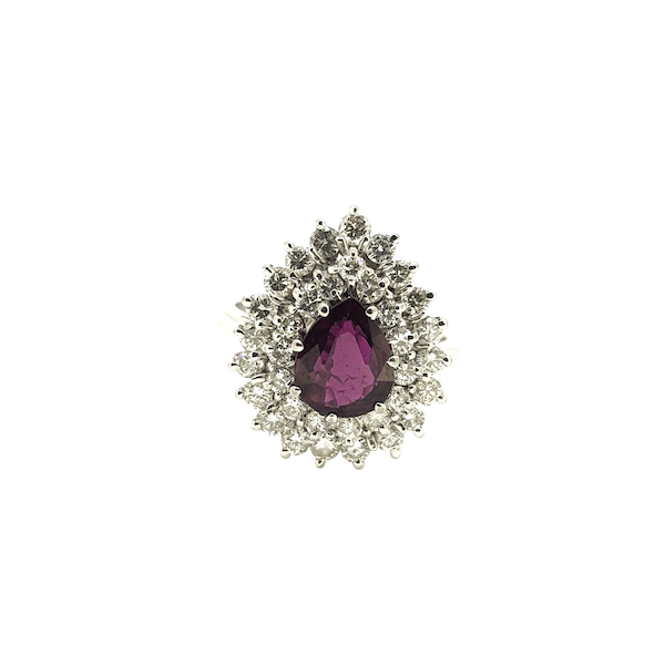 Thai Ruby and Diamond ring @Finishing Touch - image 1