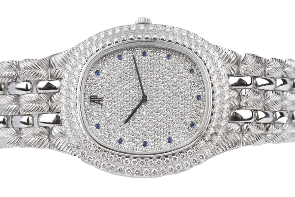 An Audemars Piguet Diamond Faced Dress Watch Offered By The Gilded Lily - image 1