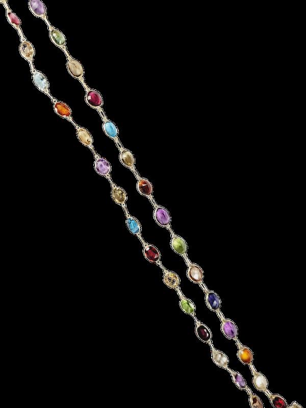 Harlequin colour gem necklace sku 50  DBGEMS - image 1